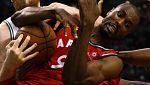 Los Raptors, con Ibaka recuperado, logran su cuarta victoria seguida