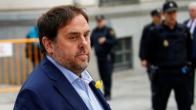 Oriol Junqueras y Joaquin Forn piden salir de la cárcel