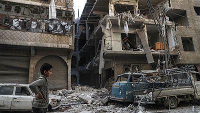 Rusia e Irán lanzan mensajes sobre un inminente final de las operaciones militares en Siria