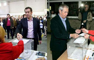 Los candidatos gallegos piden participación masiva