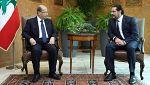 El primer ministro libanés renuncia a presentar su dimisión a petición del presidente del país
