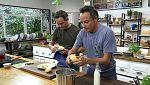 Torres en la cocina - Bacalao con alubias y col con sobrasada