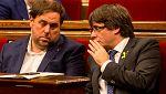 Junts per Catalunya y Esquerra negocian puntos comunes en sus programas