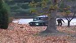 Impactantes imágenes de la deserción de un soldado norcoreano