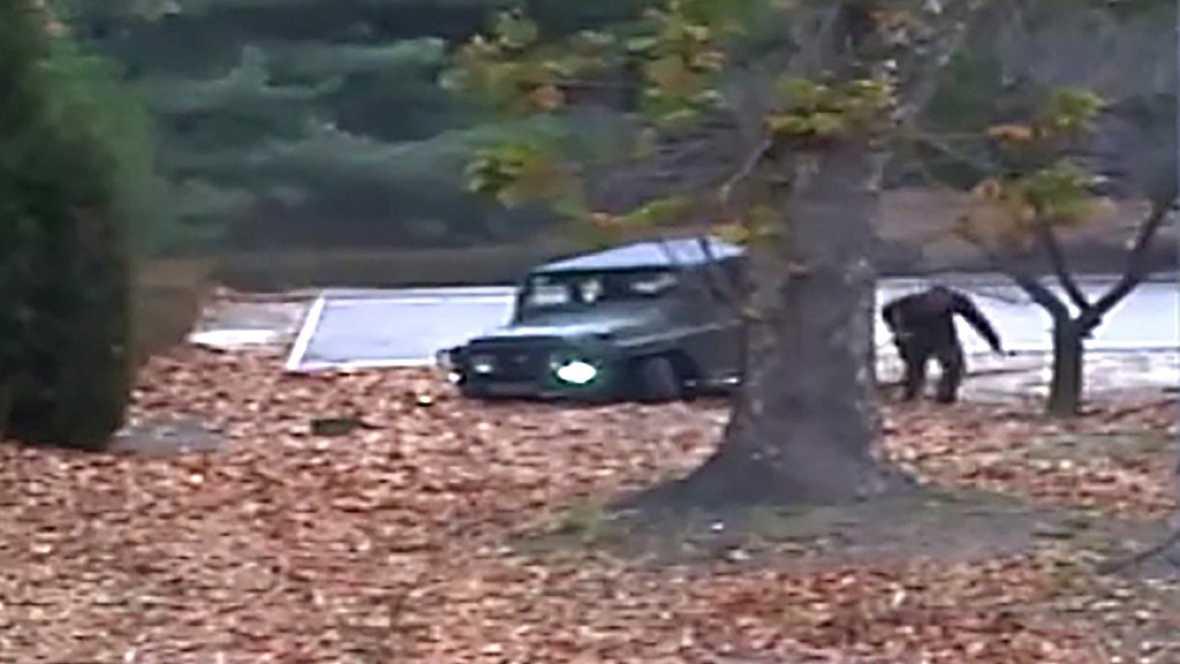 Un soldado norcoreano deserta a Corea del Sur esquivando los disparos de sus compatriotas