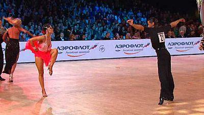 Bailes deportivos - Grand Slam Latino. Prueba Moscú - ver ahora
