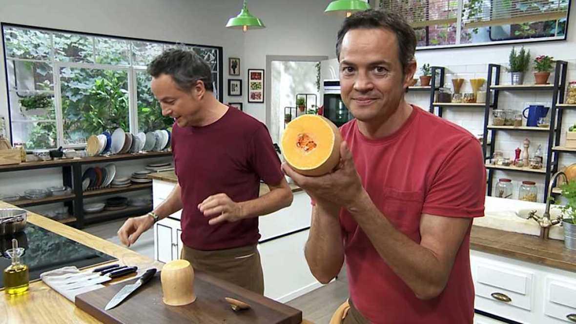 Torres en la cocina - Canelones de calabaza con pollo y flan de café - ver ahora