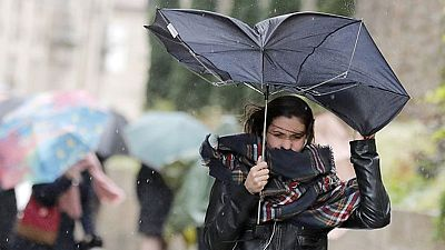 Precipitaciones en el noroeste y en Canarias