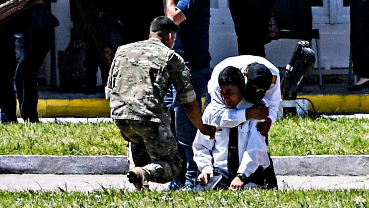 Las autoridades argentinas confirman que el submarino desaparecido sufrió una explosión