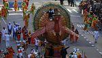 Estados Unidos celebra el Día de Accion de Gracias, su fiesta más familiar