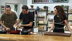 Torres en la cocina - Setas a la crema y pan de plátano