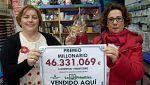 Seis mujeres ganan 46 millones en la Primitiva en Salvaterra de Miño, en Pontevedra