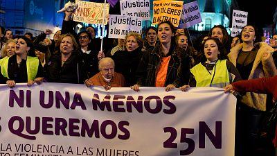 Marchas en ciudades de todo el mundo contra la violencia machista