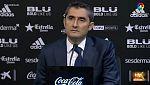 """Valverde: """"Te tienes que conformar con el punto, no estamos satisfechos"""""""