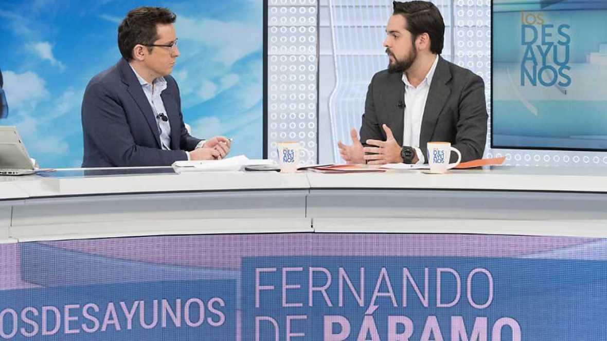 Los desayunos de TVE - Fernando de Páramo, secretario de Comunicación de Ciudadanos - ver ahora