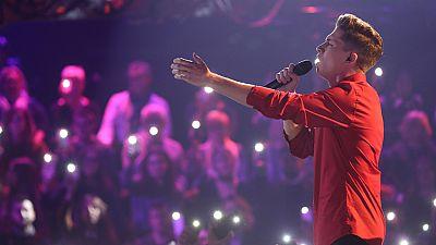 Operación Triunfo - Raoul canta 'Million' reasons, de Lady Gaga, en la Gala 5 de OT