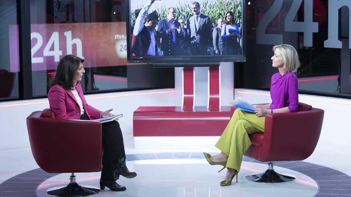 La tarde en 24 horas - Entrevista - 01/12/17 - ver ahora