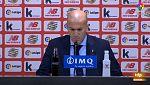 """Zidane: """"Estoy muy contento por el partido y muy decepcionado por no marcar"""""""