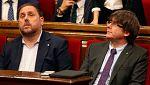 El Supremo decide si pone en libertad a los exconseller mientras Puigdemont declara en Bruselas