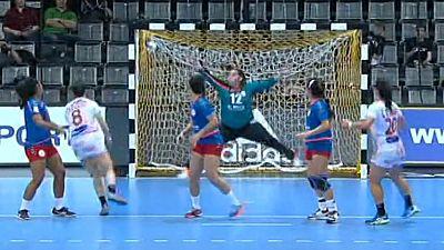 Balonmano - Campeonato del Mundo Femenino: España - Paraguay, desde Trier (Alemania) - ver ahora
