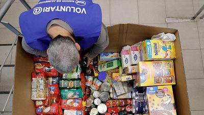 La gran recogida de alimentos logra reunir más de 21 millones de kilos de productos no perecederos