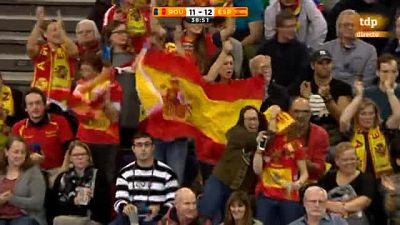Las jugadoras de la selección española han lamentado la derrota ante Rumanía ante la cámara de TVE.