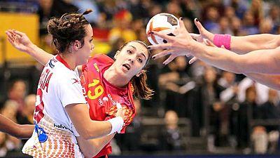 Balonmano - Campeonato del Mundo Femenino: España - Rumania, desde Trier (Alemania) - ver ahora