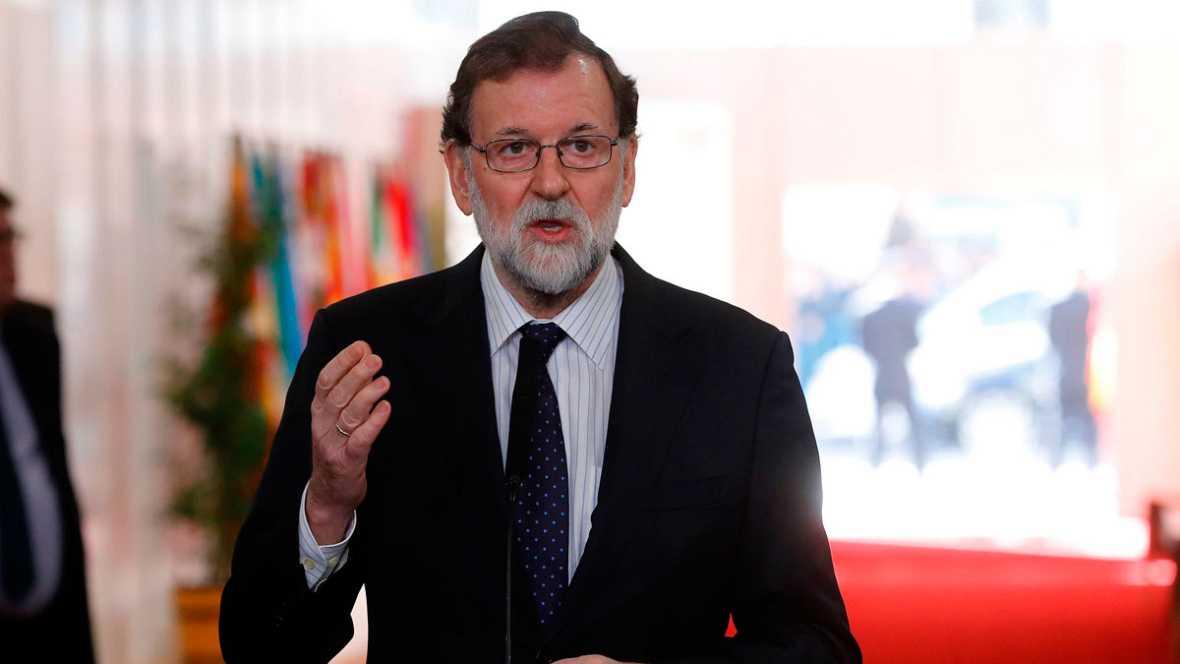"""Rajoy abierto a reforma Constitución sólo con consenso y con una """"idea clara"""""""