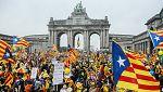 La manifestación independentista en Bruselas centra el tercer día de campaña del 21-D