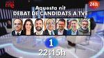 Los candidatos a la Generalitat de Catalunya en las elecciones del 21-D debaten en RTVE