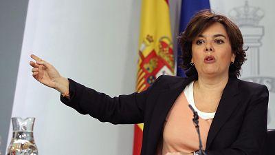 La vicepresidenta del Gobierno, Soraya Sáenz de Santamaría, ha recordado que los independentistas que se han manifestado en Bruselas en contra del Ejecutivo y de la Unión Europea han podido hacerlo por los derechos que les reporta tener un DNI españo