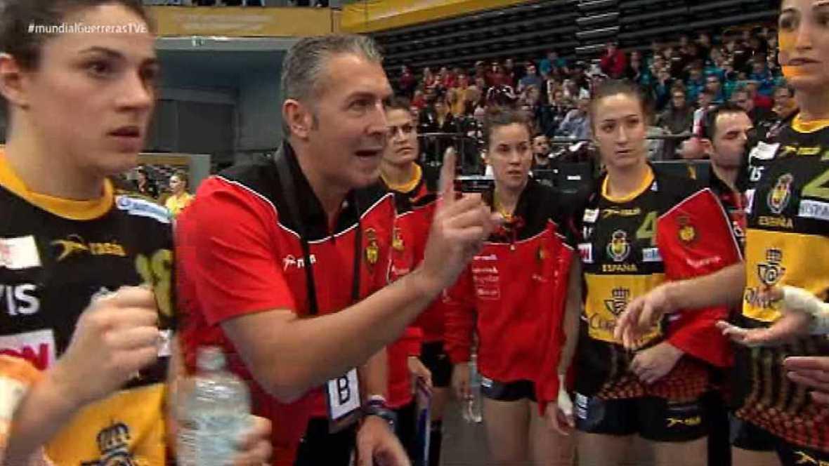 Balonmano - Campeonato del Mundo Femenino: España - Francia - ver ahora