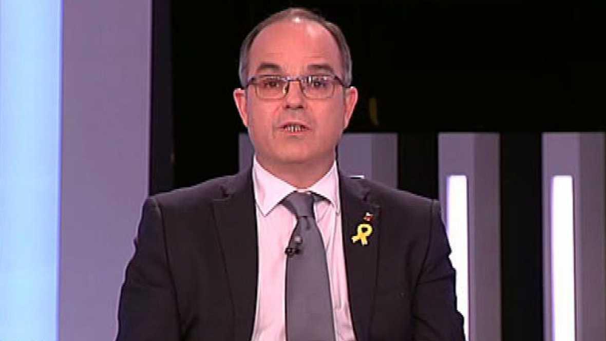 """Turull: """"El 21-D es escoger entre Puigdemont o Rajoy"""""""