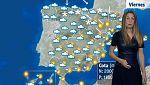 Lluvias en el extremo norte, persistentes en el Cantábrico y norte de Navarra