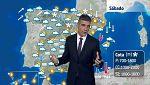 Lluvia generalizada en toda España, salvo Canarias