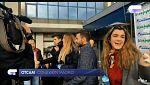 Operación Triunfo - Amaia, Agoney, Roi y Mireya se encuentran con los fans en Madrid durante la firma de discos