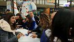 Operación Triunfo - Aitana, Ana Guerra y Miriam firman discos en Valencia