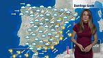 Fuertes lluvias en el tercio noroeste de España