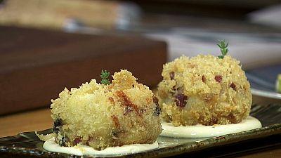 Torres en la cocina - Croquetas de yuca y queso