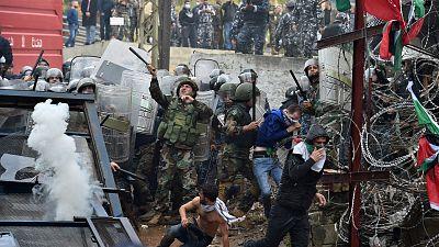 Mañana muy tensa en Beirut, la capital del Líbano