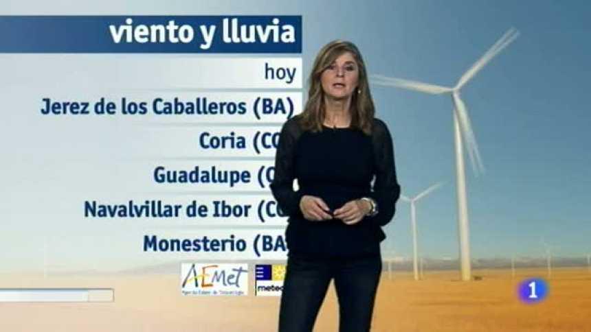 El tiempo en Extremadura - 11/12/17