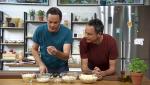 Torres en la cocina - Ensaladilla de choclos y croquetas de yuca y queso