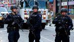 """Al menos cuatro heridos en un """"intento de atentado terrorista"""" con explosivos en Nueva York"""