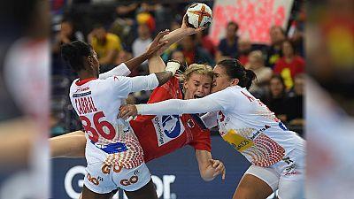 Balonmano - Campeonato del Mundo Femenino 1/8 Final: España-Noruega -  ver ahora