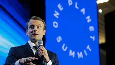 Macron reúne en París a una treintena de líderes internacionales para reafirmar la lucha contra el cambio climático