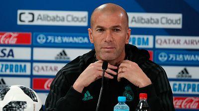 """Zidane: """"Estoy contento de tener a todos listos"""""""