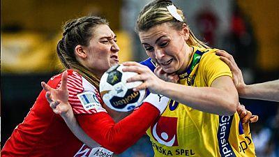 Balonmano - Campeonato del Mundo Femenino: 1/4 Final: Suecia-Dinamarca - ver ahora