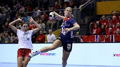 Balonmano - Campeonato del Mundo Femenino 1/4 Final: Noruega-Rusia - ver ahora