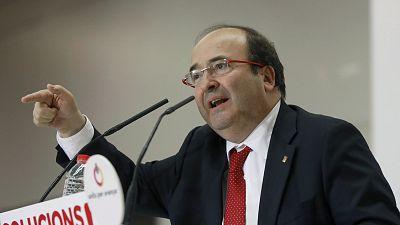 Iceta reconoce que no consultó con el PSOE su propuesta de indultos para los políticos secesionistas
