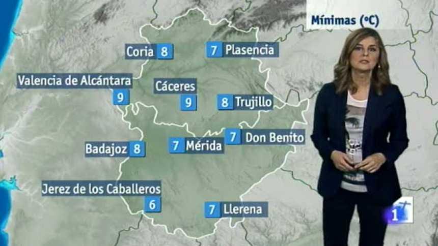 El tiempo en Extremadura - 14/12/17